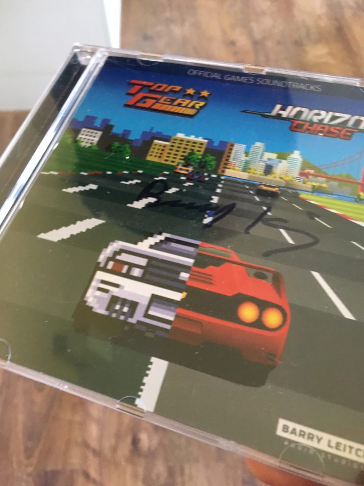 Top Gear / Horizon Chase Official Game Soundtrack (Signed)