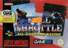 Full Throttle: All American Racing (Super Nintendo)