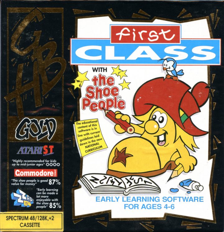 First Class with the Shoe People (ZX Spectrum)