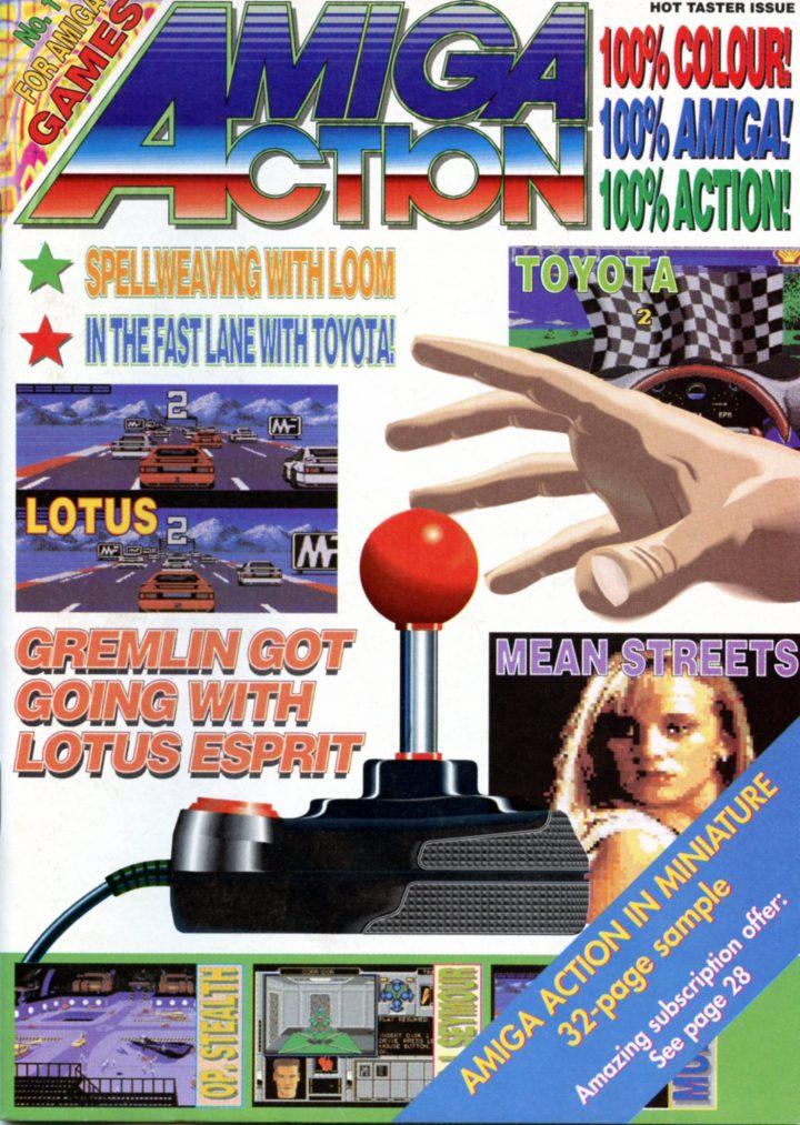 Amiga Action Sampler