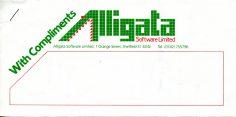 Alligata Software Compliments Slip