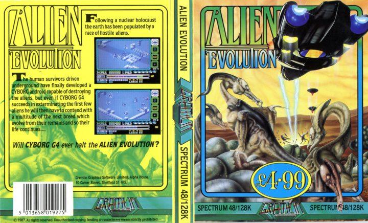 Alien Evolution (ZX Spectrum)