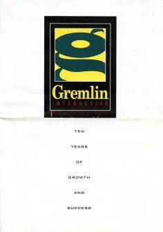 Gremlin Interactive Brochure (1995)