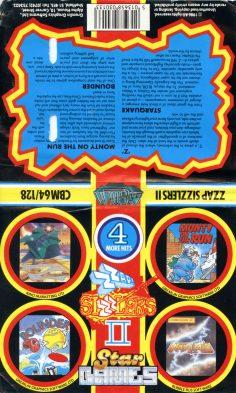ZZap! Sizzlers II (Commodore C64)