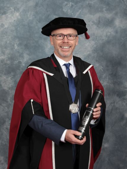 Carl Cavers Honorary Doctrate