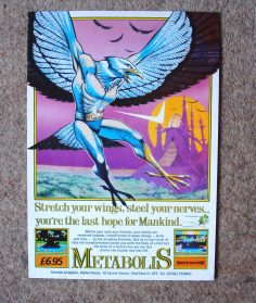 Vintage Metabolis and Rocky Posters