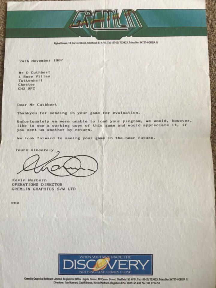 Kevin Norburn Evaluation Letter