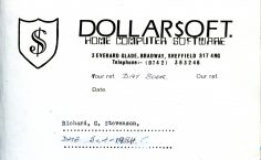 Dollarsoft Compliments Slip