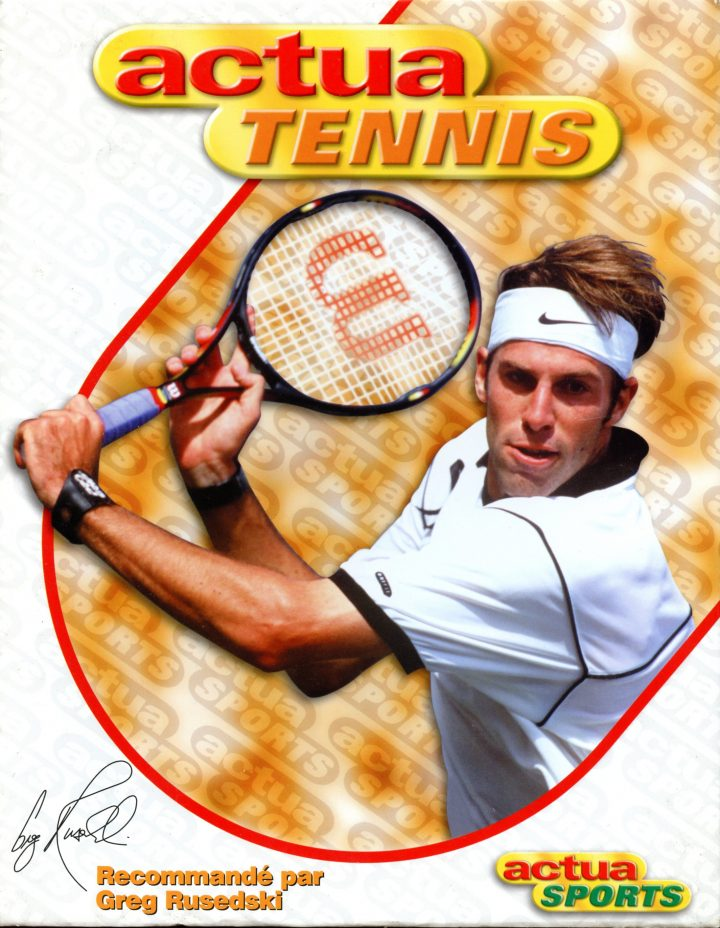 Actua Tennis (French, PC)