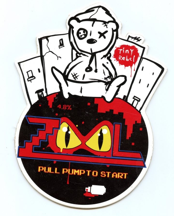 Zool Beer Clip (Tiny Rebel Brewery)