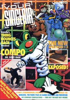 Your Sinclair July 1987