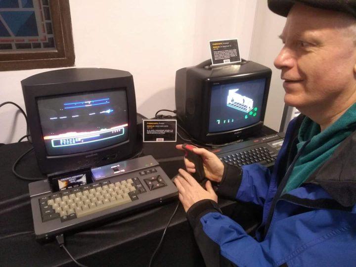 """Colin """"Fungus The Bogeyman"""" Dooley at Arcade Vintage: Museo del Videojuego Interactivo"""