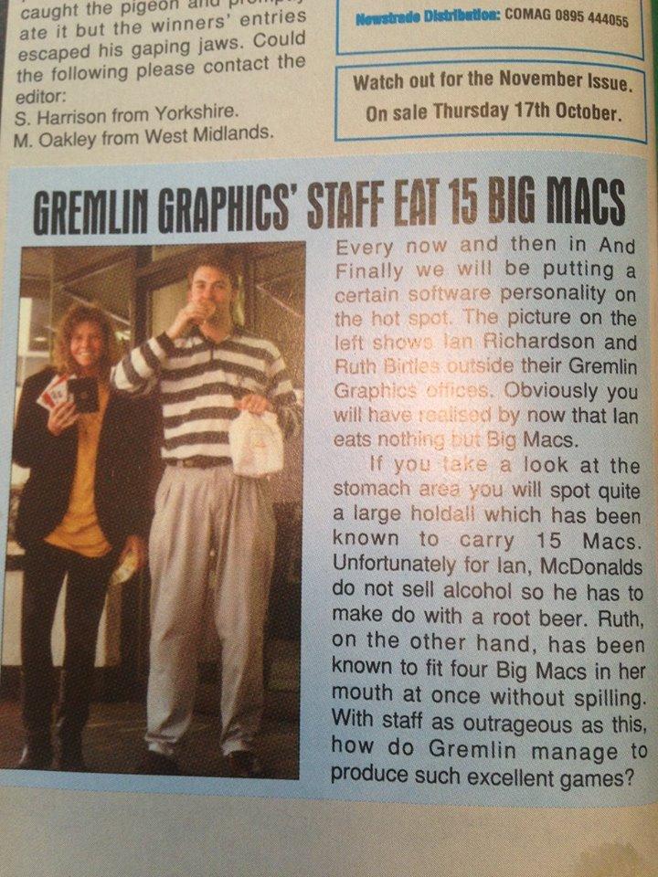 Ruth Bartles & Ian Richarson Eat 15 Big Macs